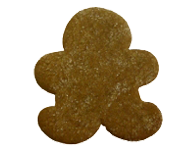 Gingerbread Man Sprinkled with Crystal Sugar