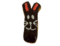 Chocolate Bunny Long John