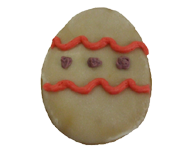 Decorated Egg Cookie