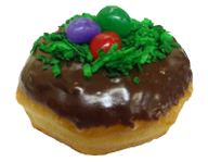 Easter Basket Donut