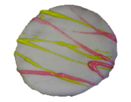 Spring Drizzled Cookie