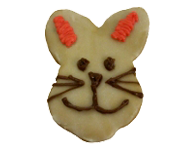 Vanilla Bunny Cookie