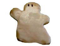 Iced Ghost Cookie