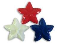 Star Cookies - Red, White or Blue