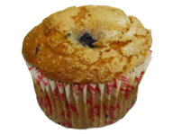 Low Fat Very Berry Muffin
